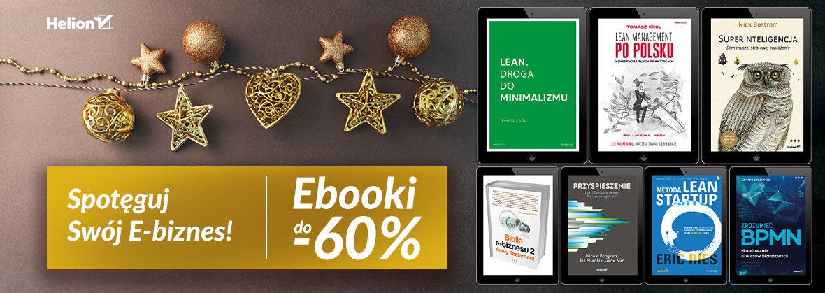 Spotęguj Swój E-biznes! [ebooki do -60%]